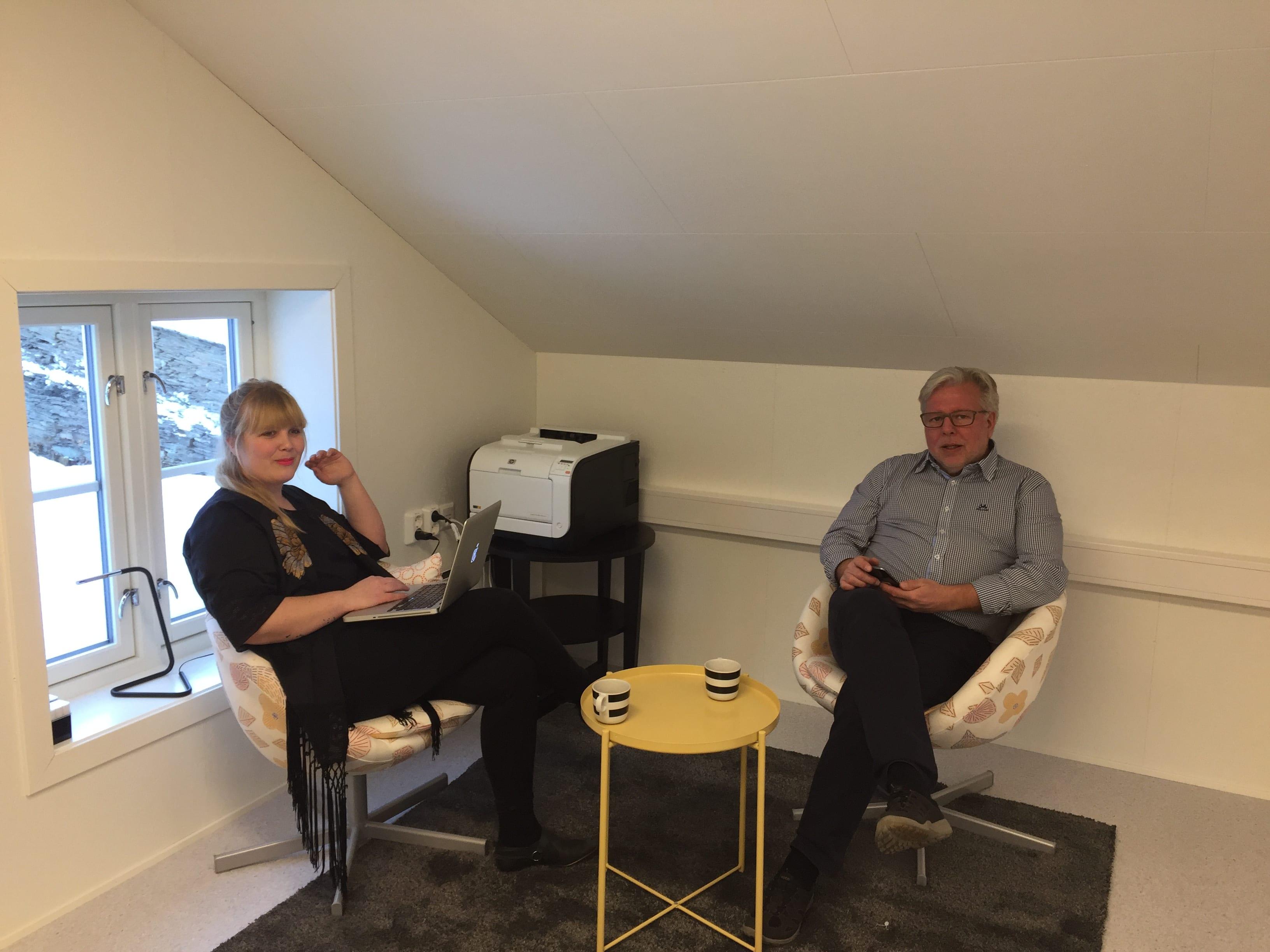 Bård Bårdstu og Olin Steinsvik